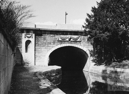 Downstream portal of Beckford Road tunnel, Bathwick, Bath 1956