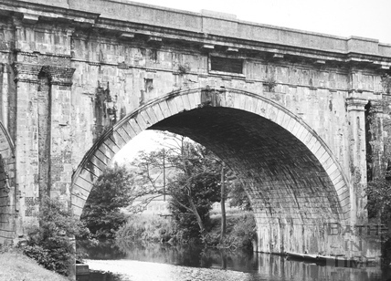 Detail of north elevation of Dundas Aqueduct 1956