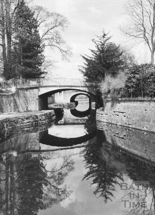 Canal bridges, Sydney Gardens, Bathwick, Bath 1956