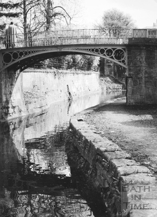 Canal bridges, Sydney Gardens, Bathwick, Bath 1956