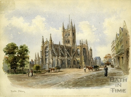 Bath Abbey, Bath 1890