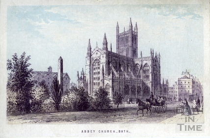 Abbey Church, Bath 1861