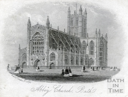 Abbey Church, Bath c.1859