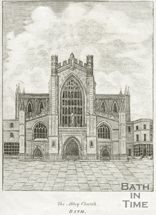 The Abbey Church, Bath 1812