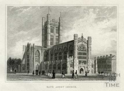 Bath Abbey Church 1829