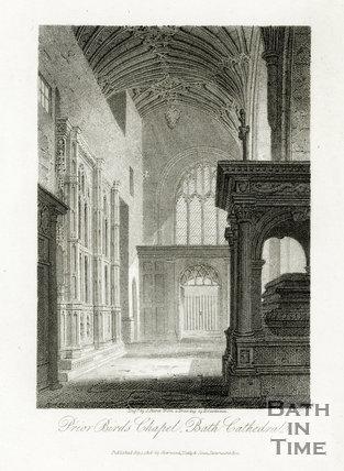 Prior Bird's Chapel, Bath Cathedral, Bath 1814