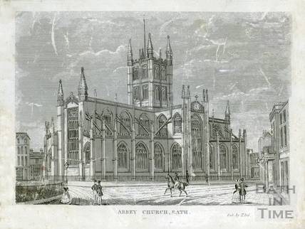 Abbey Church, Bath c.1860