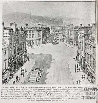 Bath as it may look in a few years 1935
