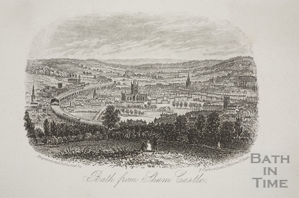 Bath from Sham Castle c.1860