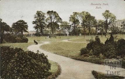 Henrietta Park, Bath c.1907