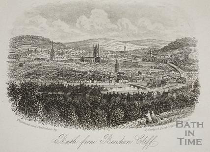 Bath from Beechen Cliff c.1860