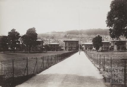 View of Henrietta Park, Bath 1895