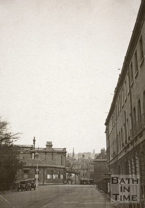 View of Green Park Station with Green Park East, Bath c.1930