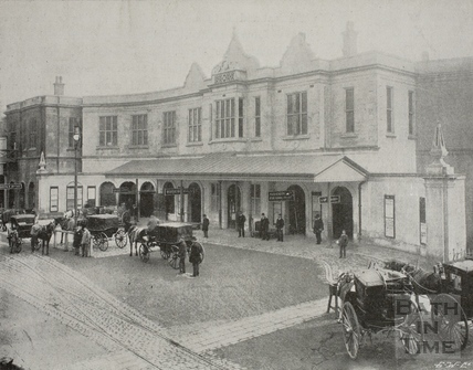 Bath Spa Railway Station, Bath c.1890