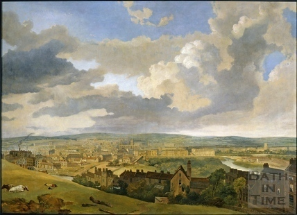 Panorama of Bath 1833