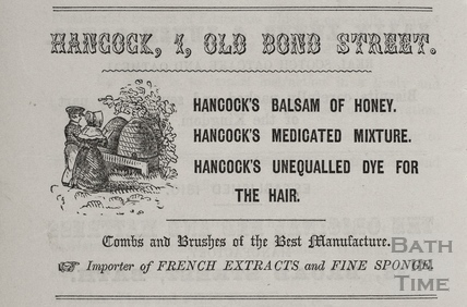 G. Hancock, 1, Old Bond Street, Bath 1856