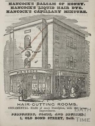 G. Hancock, 1, Old Bond Street, Bath 1857