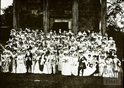 Bath Historical Pageant. Episode 7. Group of Performers July 1909