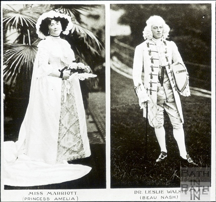 Bath Historical Pageant. Episode 7. Princess Amelia and Beau Nash July 1909