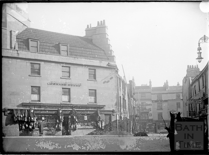 Corn Street and St. James's Parade, Bath c.1903