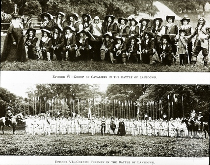 Bath Historical Pageant. Episode 6. Cavaliers and Pikemen July 1909