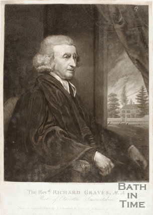 The Reverend Richard Graves, Rector of Claverton