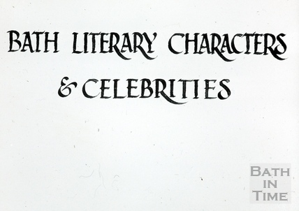 Bath Historical Pageant. Bath Literary Characters & Celebrities July 1909