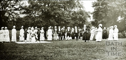 Bath Historical Pageant. Episode 8. Queen Charlotte's Visit July 1909