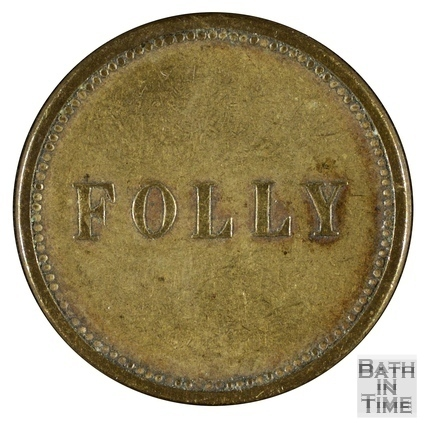 The Folly Inn, Bathwick, Bath 19th century