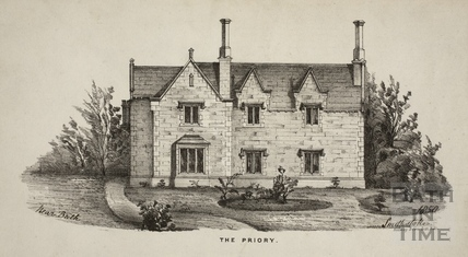 The Priory, Southstoke near Bath 1850