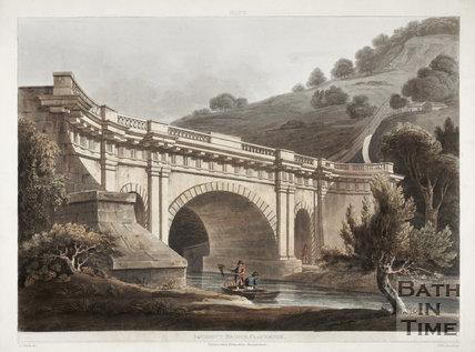 Aqueduct Bridge (Dundas Aqueduct), Claverton 1806