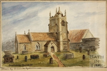 Southstoke Church 1850