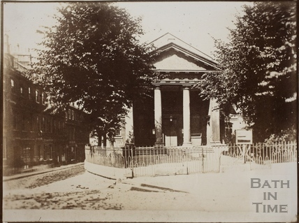 St. Mary's Chapel, Queen Square, Bath c.1870