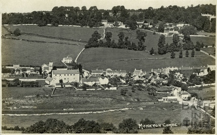 View of Monkton Combe c.1928