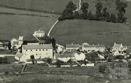 View of Monkton Combe c.1928 - detail