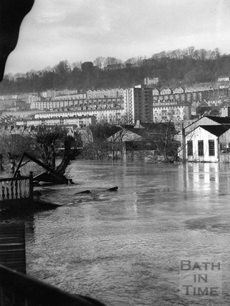 Bath in Flood 1960