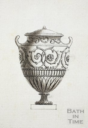 A Collection of Vases, Terms &c by Thomas Parsons (1744-1818), Carver, Bath - detail