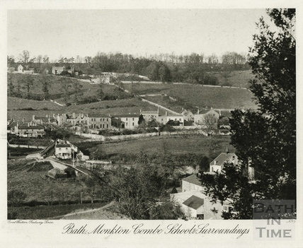 Bath, Monkton Combe School and Surroundings 1909