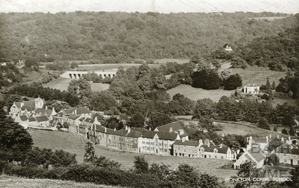 View of Monkton Combe c.1940