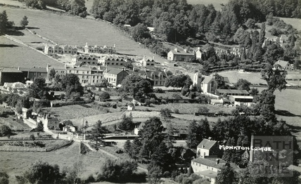 View of Monkton Combe c.1920