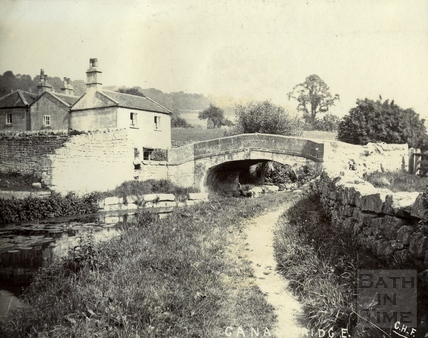 Canal Bridge, Mill Lane, Monkton Combe c.1890