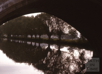 Under the Toll Bridge, Bathampton c.1975