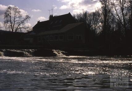 Bathampton Weir c.1975