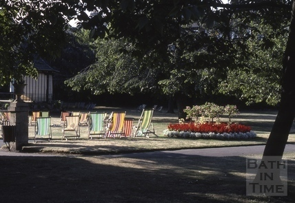 Parade Gardens, Bath - Floral City 1976