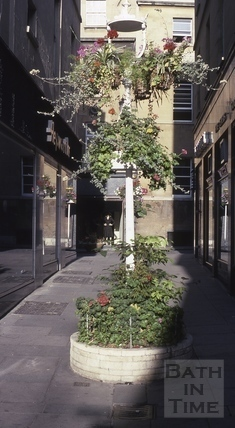 Northumberland Passage, Bath - Floral City 1976