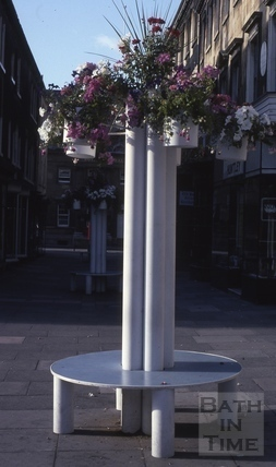 Old Bond Street, Bath - Floral City 1976