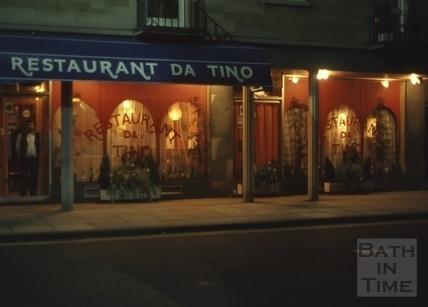 Restaurant Da Tino, Barton Street, Bath 1977