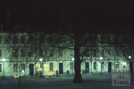 Kingsmead Square, Bath 1977