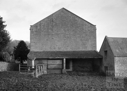 End of brewery building, Monkton Combe Brewery, Monkton Combe 1966