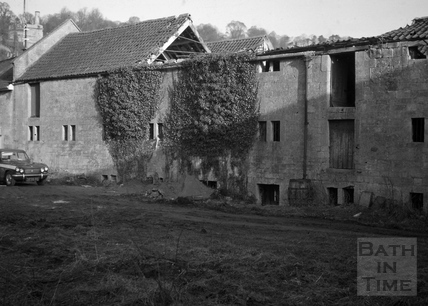 Malthouse, Monkton Combe Brewery, Monkton Combe 1966